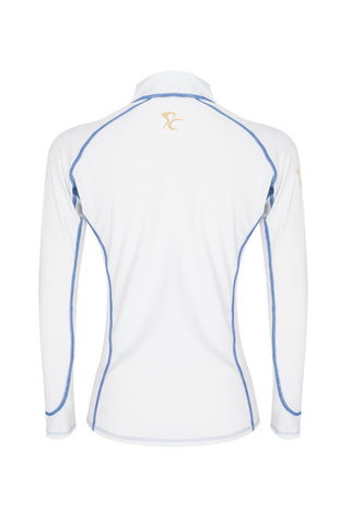 Paul Carberry PC Racewear Sprint - Lycra Top - White