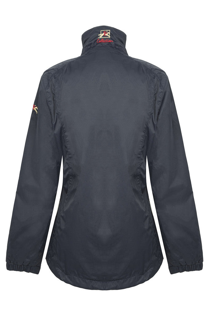 Paul Carberry - PC Racewear - Top Notch Jacket - Showerproof - Navy - Back View