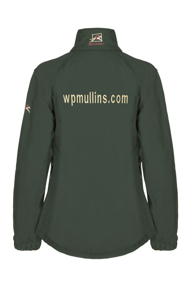 Paul Carberry - WP Mullins PC Racewear - Racing Green PC Softshell Jacket - Back
