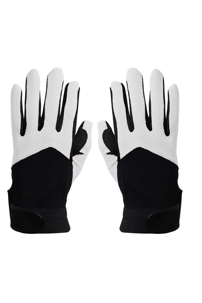 Paul Carberry PC Racewear PC Gloves Black/White