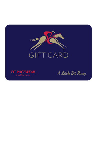 The PC Racewear & A Little Bit Racey Gift Card: from €20