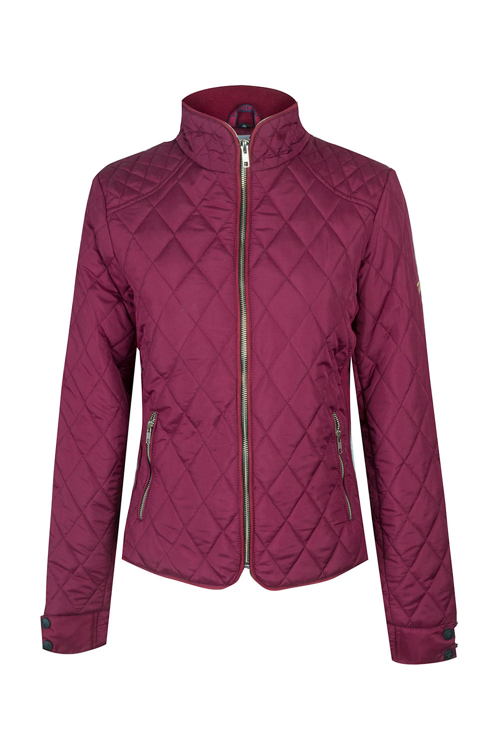 A Little Bit Racey Jacket - Burgundy