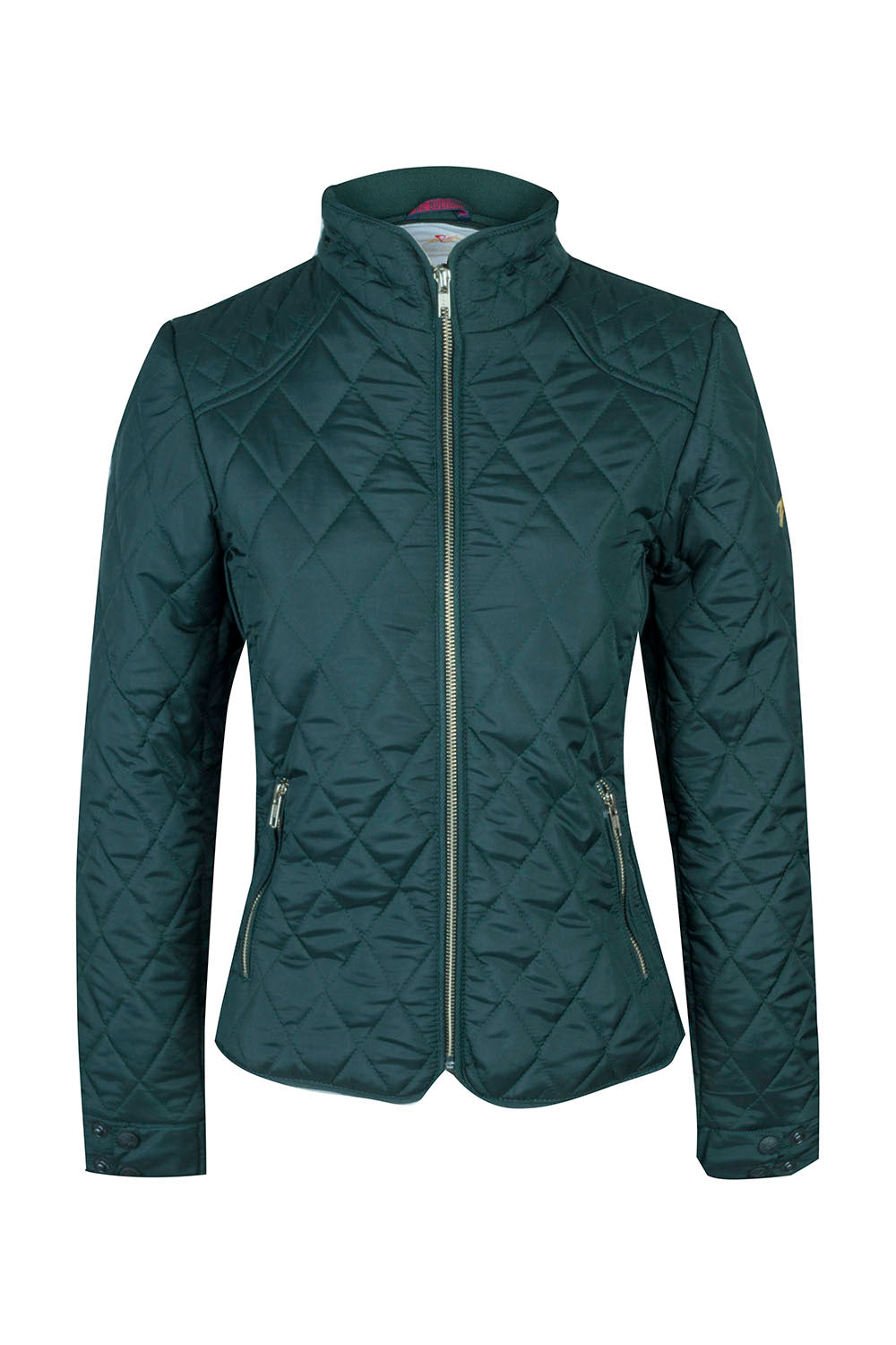A Little Bit Racey - Jacket - Racing Green - front -  PC Racewear
