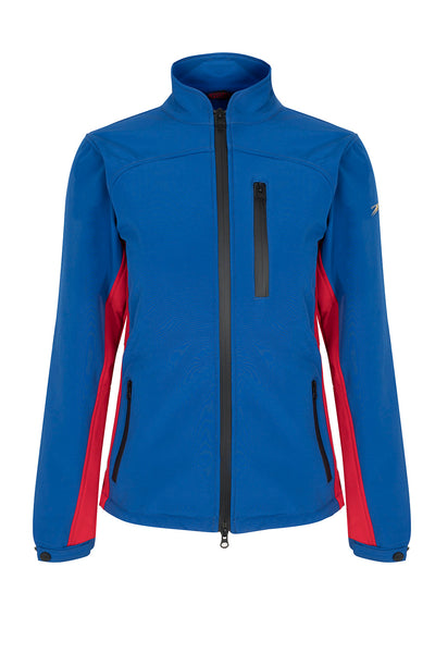 PC Softshell Jacket - Royal Blue / Red - Childrens