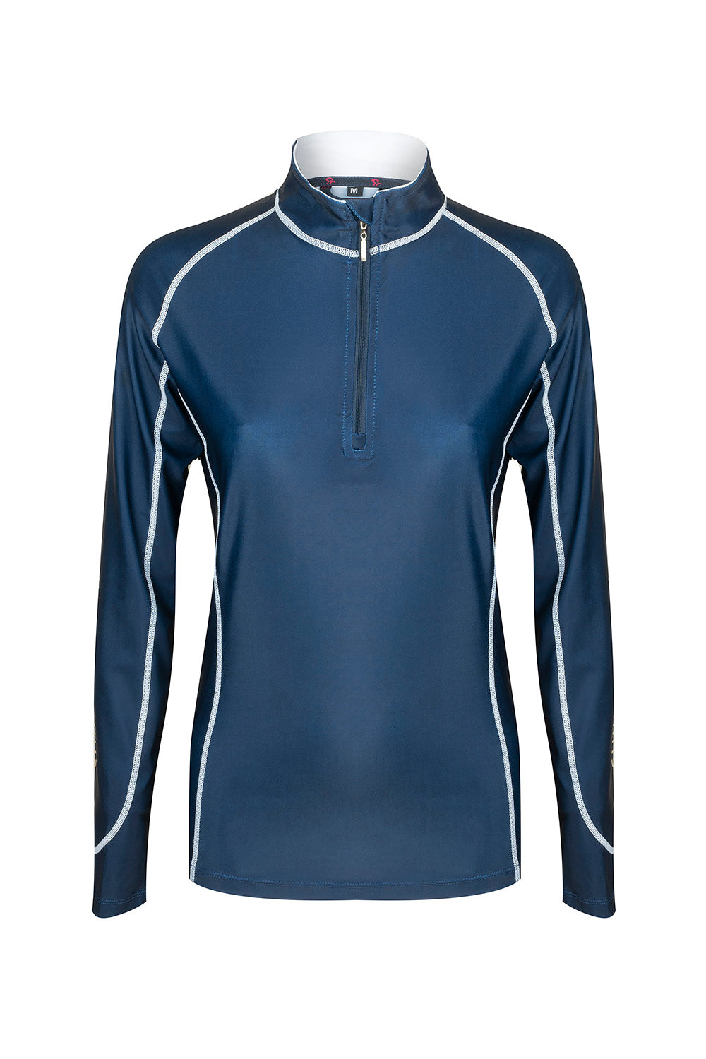 WP Mullins Sprint Lycra Top - Navy