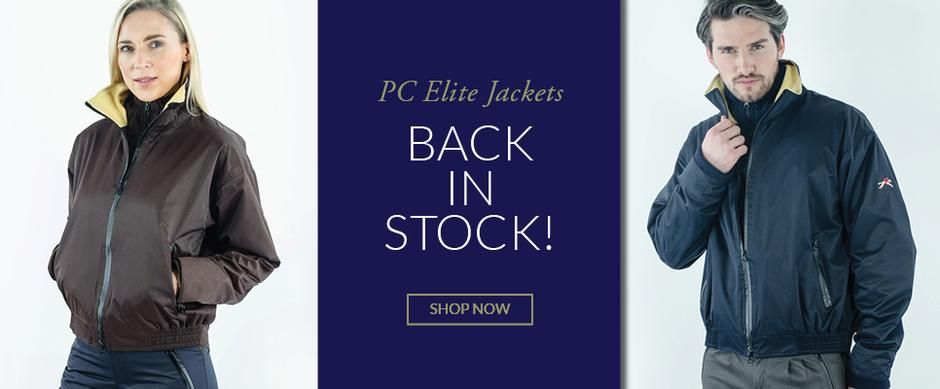Paul Carberry PC Racewear - PC Elite Jacket - Luxury outdoor and equestrian jacket