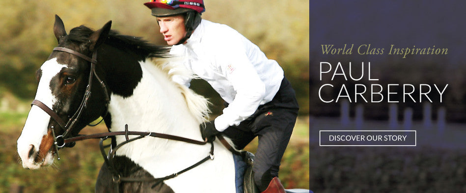 Paul Carberry - World Class Irish Horse Racing Jockey - PC Racewear