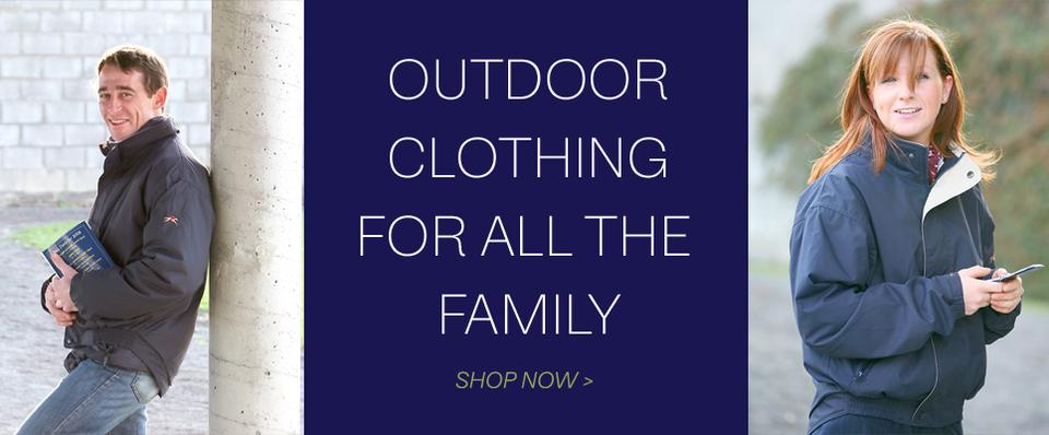 Outdoor Clothing for all the Family
