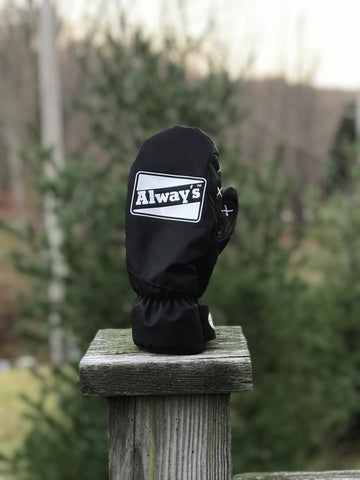 Always Boardshop CG Habitats Park Black/White Mitts