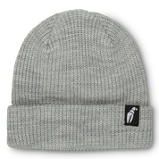 Crab Grab Claw Label Heather Grey Beanie
