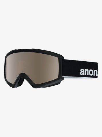 Anon Helix 2.0 Black Goggle W/ Spare Lens
