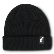 Crab Grab Claw Label Black Beanie