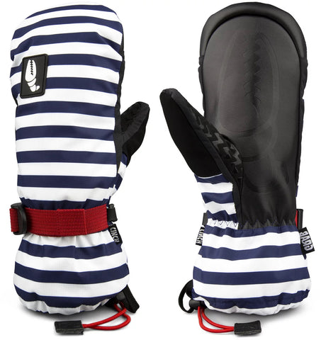 Crab Grab Cinch Mitt Women's Navy Stripe