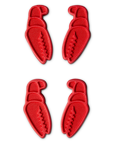 Crab Grab Mini Claws Red Traction Pad