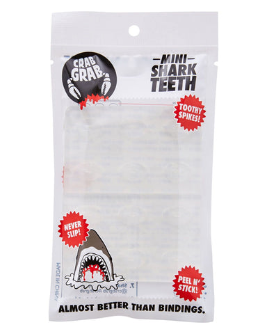 Crab Grab Mini Shark Teeth Clear Traction Pad