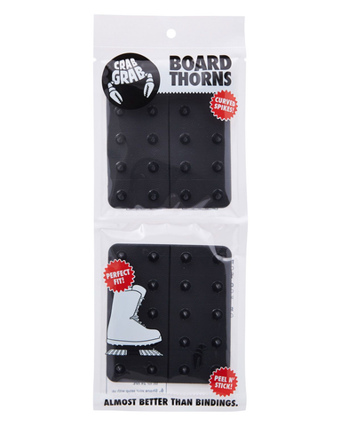 Crab Grab Board Thorn Black Traction Pad