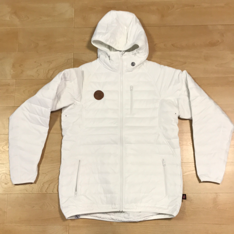 Always Boardshop CG Habitats Sleeping Bag Hoodie White