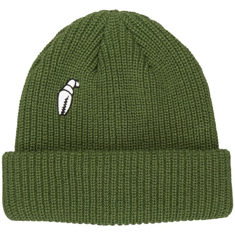 Crab Grab High Mark Army Green Beanie