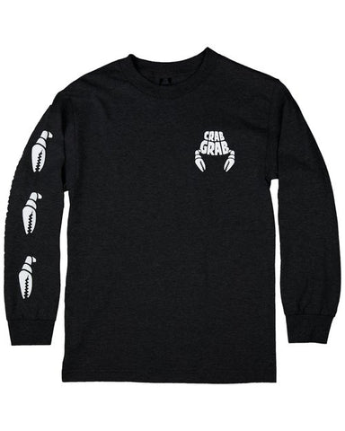 Crab Grab Claw Longsleeve Black