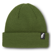 Crab Grab Claw Label Army Green Beanie