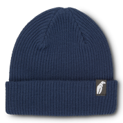 Crab Grab Claw Label Navy Beanie