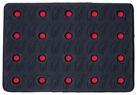 Crab Grab Holy Sheet Red Traction Pad