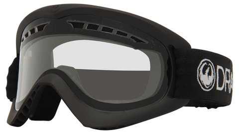 Dragon DX Black W/ Clear Lens