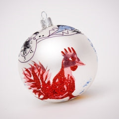 Red Rooster Ornament