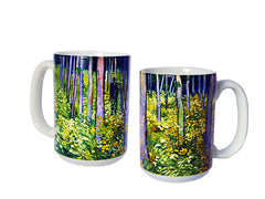 Undergrowth with Two Figures Mug