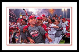 Reds Clinch Central (Framed)