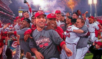 Reds Clinch Central (Unframed)