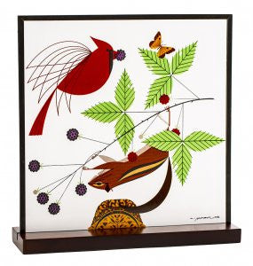 Charley Harper Art Glass: A Good World