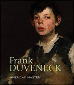 Image of Frank Duveneck book cover featuring the whistling boy