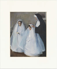 "The First Communion 11"" x 14""  Matted Print"