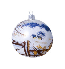 """Winter in Cincinnati"" Ornament by John Ellsworth Weis"