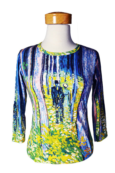 Undergrowth with Two Figures Women's Shirt