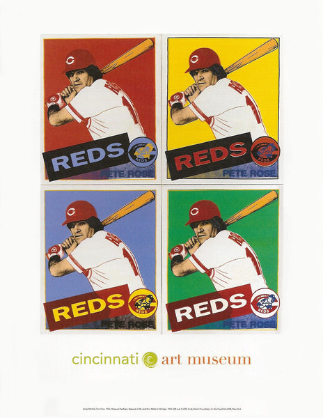 Andy Warhol Pete Rose Postcard