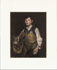 "The Whistling Boy 11"" x 14""  Matted Print"