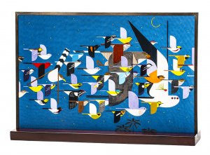 Charley Harper Art Glass: Mystery of the Missing Migrants