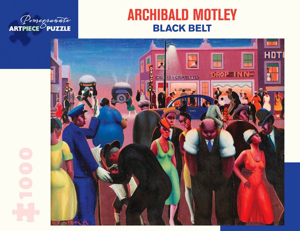 Archibald Motley:Black Belt 1000pc. Puzzle
