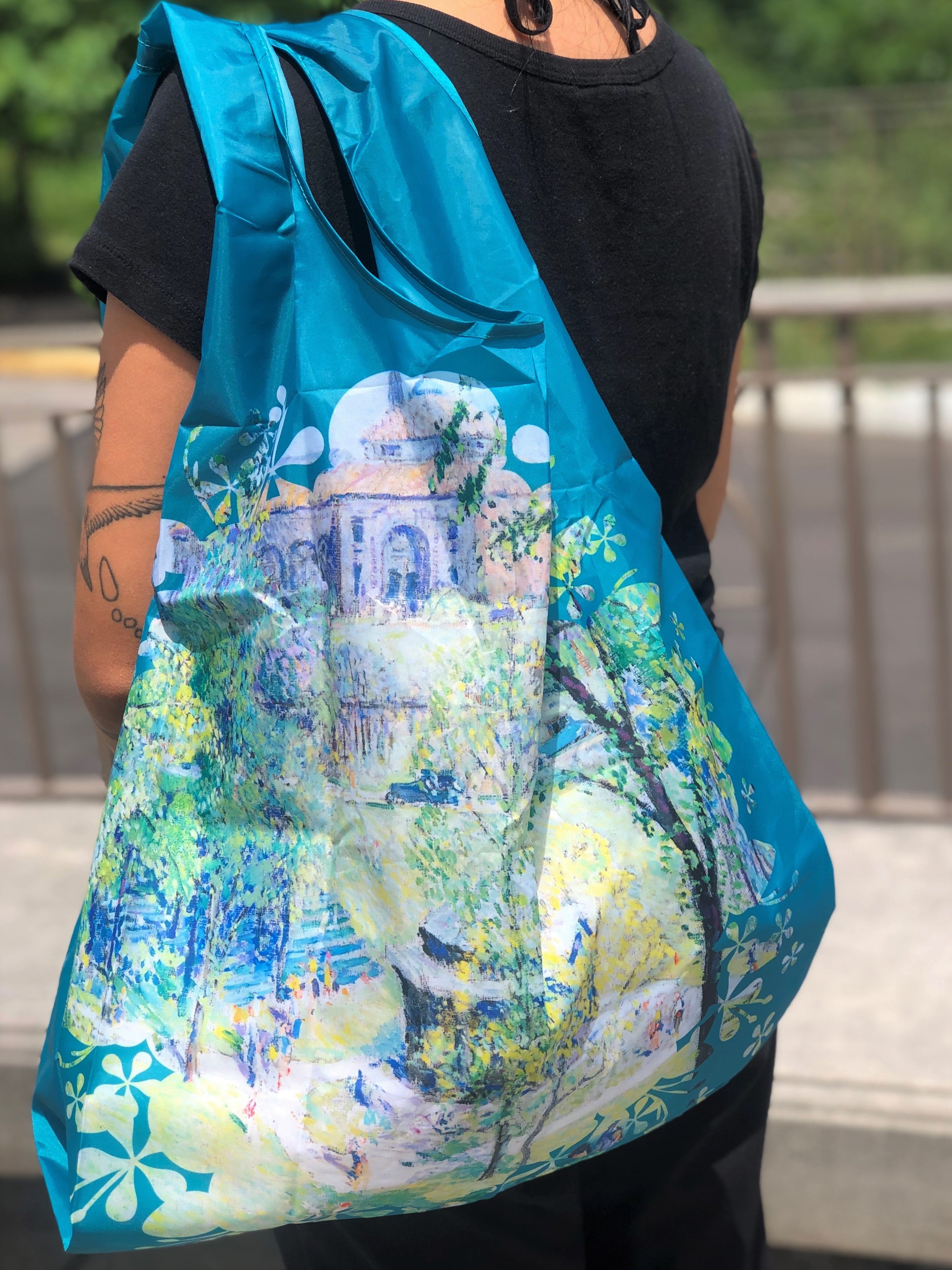 In The Park Reusable Tote Bag