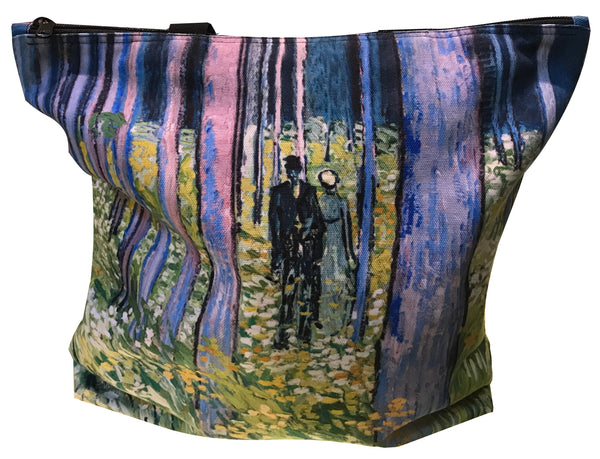 Van Gogh Undergrowth With Two Figures Tote Bag