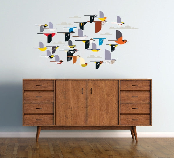 Flock of Birds Wall Decor