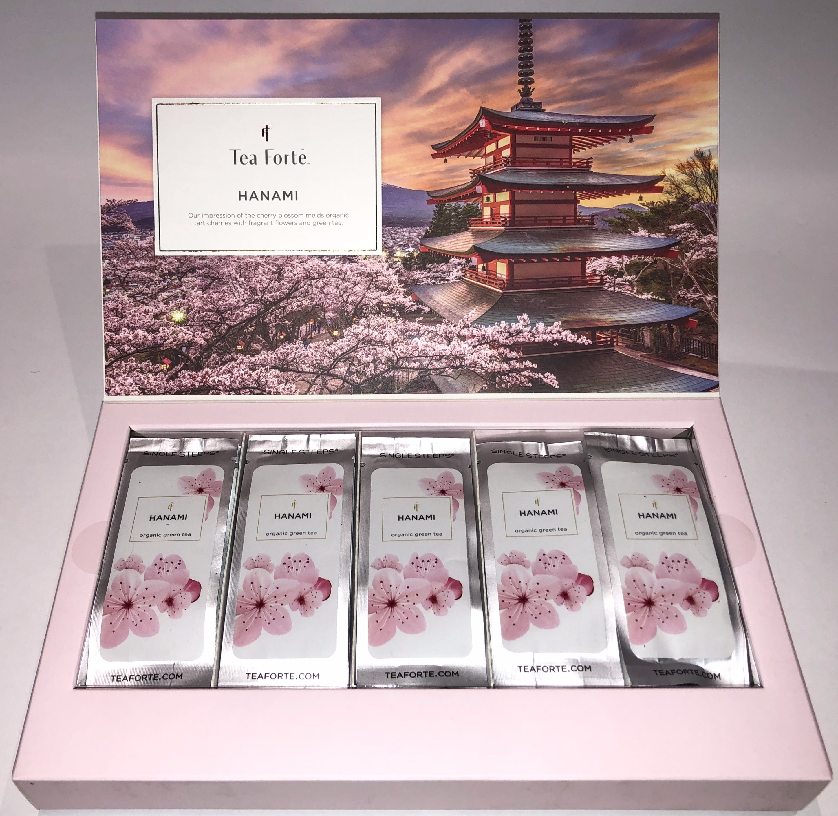 CHERRY BLOSSOM HANAMI HANAMI SINGLE STEEPS® SAMPLER