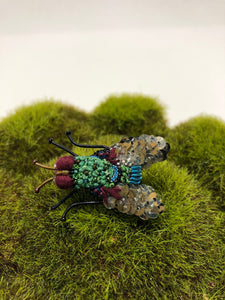Blow Fly Embellished Pin