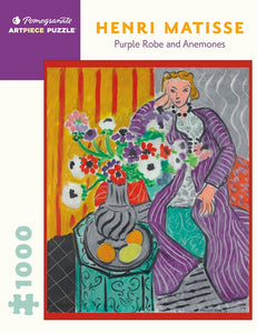 Henri Matisse: Purple Robe and Anemones 1,000-piece Jigsaw Puzzle