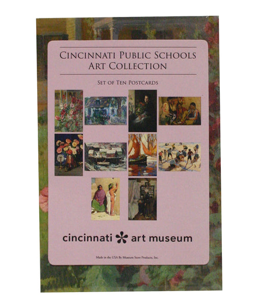 Cincinnati Public Schools Art Collection Postcard Pack