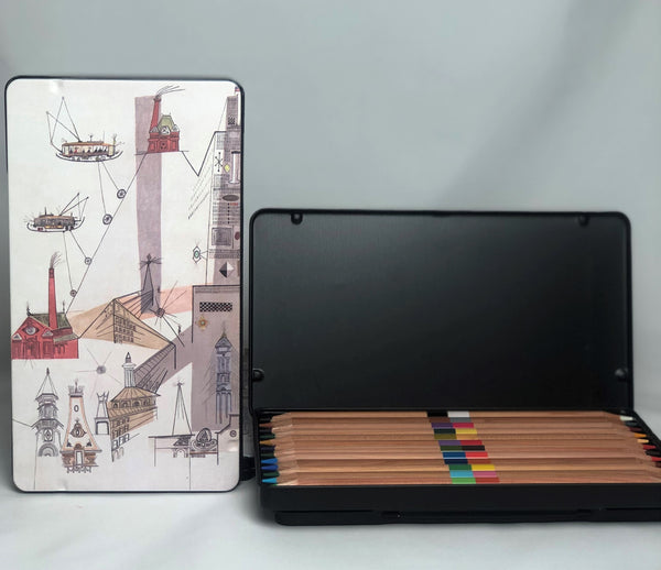 Saul Steinberg Colored Pencil Set