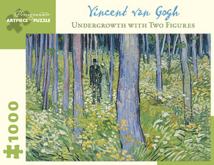 Vincent van Gogh Undergrowth with Two Figures 1000 pc. puzzle