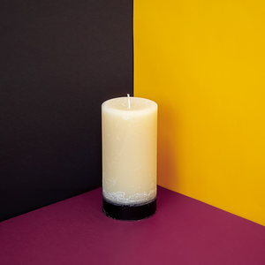 Load image into Gallery viewer, Bitter Orange & Ylang Ylang Pillar Candle